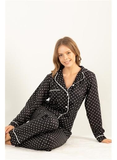 Doremi Pijama Takım Siyah